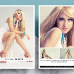 Modeling Comp Card Template Inside Model Comp Card Template Free