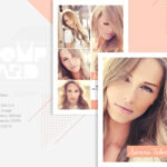 Modeling Comp Card Template | Model Agency Zed Card | Photoshop, Elements &  Ms Word Template | Instant Download | Mc 12 Within Zed Card Template