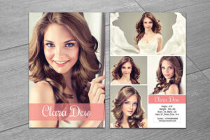 Modeling Comp Card Template V247Template Shop On For Free Comp Card Template