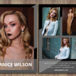 Modeling Comp Card Template, Word Template, Photoshop Template, Instant  Download, Docx Files, Psd Template, Professional Comp Card Template Regarding Comp Card Template Psd