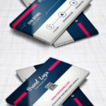 Modern Business Card Design Template Free Psd | Business Regarding Modern Business Card Design Templates