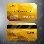 Modern Business Card Design Template. Vector Illustration With Modern Business Card Design Templates