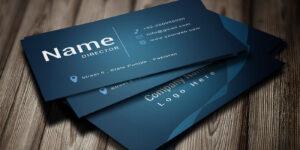 Modern Business Card Template inside Buisness Card Template