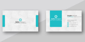 Modern Business Card Template pertaining to Buisness Card Templates