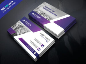 Modern Creative Business Card Template Design – Psdcb throughout Web Design Business Cards Templates
