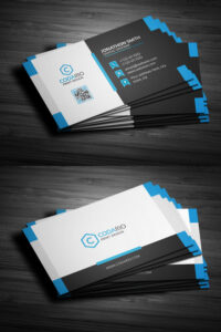 Modern Creative Business Card Template Psd | Business Card within Create Business Card Template Photoshop