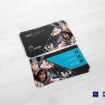 Modern Photography Business Card Template Within Photography Business Card Template Photoshop