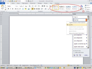 Modify A Style At The Template Level – Techrepublic for How To Save A Template In Word