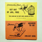 Monopoly Replacement Chance & Community Chest Cards Full Set Within Monopoly Chance Cards Template