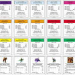 Monopoly+Property+Cards+Template | Monopoly | Monopoly Cards Regarding Monopoly Chance Cards Template