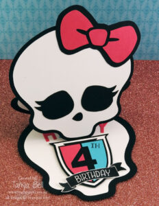 Monster High Birthday Card -Free Template | Cards-Happy with regard to Monster High Birthday Card Template