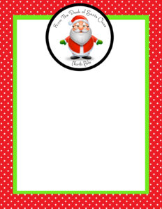 Month Of Joy: The Magic Of A Letter From Santa – Simply Sprout for Blank Letter From Santa Template