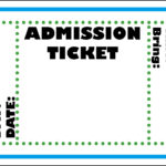 Mormon Share } Admission Ticket | Colossal Coaster World Vbs Regarding Blank Admission Ticket Template