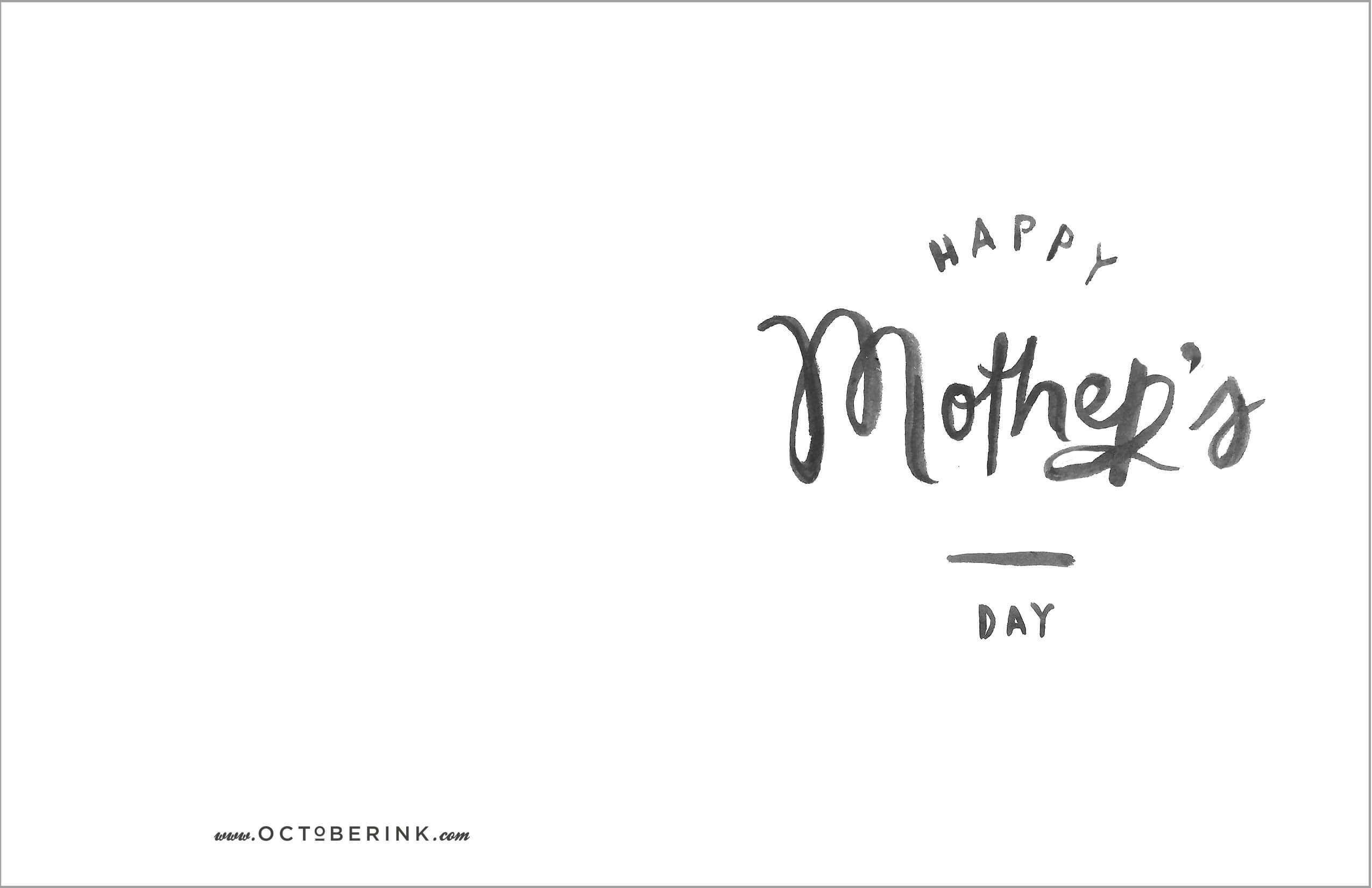 Mothers Day Cards Download #cards #download #mothers Inside Mothers Day Card Templates
