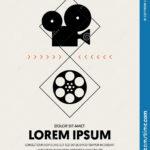 Movie And Film Festival Poster Template Design Stock Inside Film Festival Brochure Template