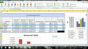 Ms Excel 2010 Tutorial: Employee Sales Performance Report, Analysis &  Evaluation – Part 2 throughout Sales Analysis Report Template