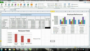 Ms Excel Tutorial Employee Sales Performance Report Analysis pertaining to Sales Analysis Report Template