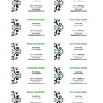 Ms Word Business Card Template – Business Card With Ms Word Business Card Template