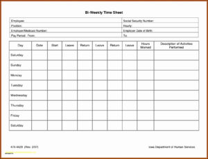 Multiple Employee Timesheet Free Then Awesome Biweekly pertaining to Weekly Time Card Template Free