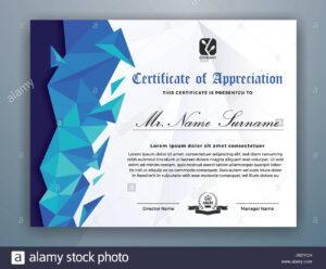 Multipurpose Modern Professional Certificate Template Design inside Design A Certificate Template
