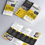 Multipurpose Tri Fold Brochure Psd Template   Psdfreebies Within 3 Fold Brochure Template Psd Free Download