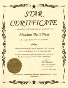 Name A Star Certificate Template – Top Image Gallery Site within Star Performer Certificate Templates