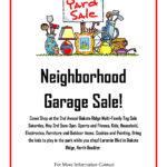 Neighborhood Garage Sale Flyer Template – Yahoo Image Search In Yard Sale Flyer Template Word