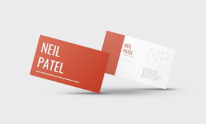 Neil Patel Google Docs Business Card Template – Stand Out Shop Throughout Google Docs Business Card Template