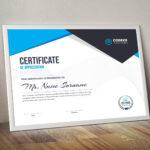 Nemesis Professional Landscape Certificate Template 000847 pertaining to Landscape Certificate Templates