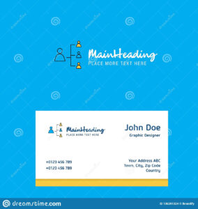 Networking Logo Design With Business Card Template. Elegant throughout Networking Card Template