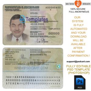 New 2019 Editable Id Card Templates | Business Letters Blog regarding Georgia Id Card Template