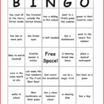 New Bingo Card Template | Leave Latter for Ice Breaker Bingo Card Template