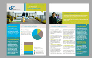 New Business Brochure And Flyer Templates   Publisher's Inside One Page Brochure Template