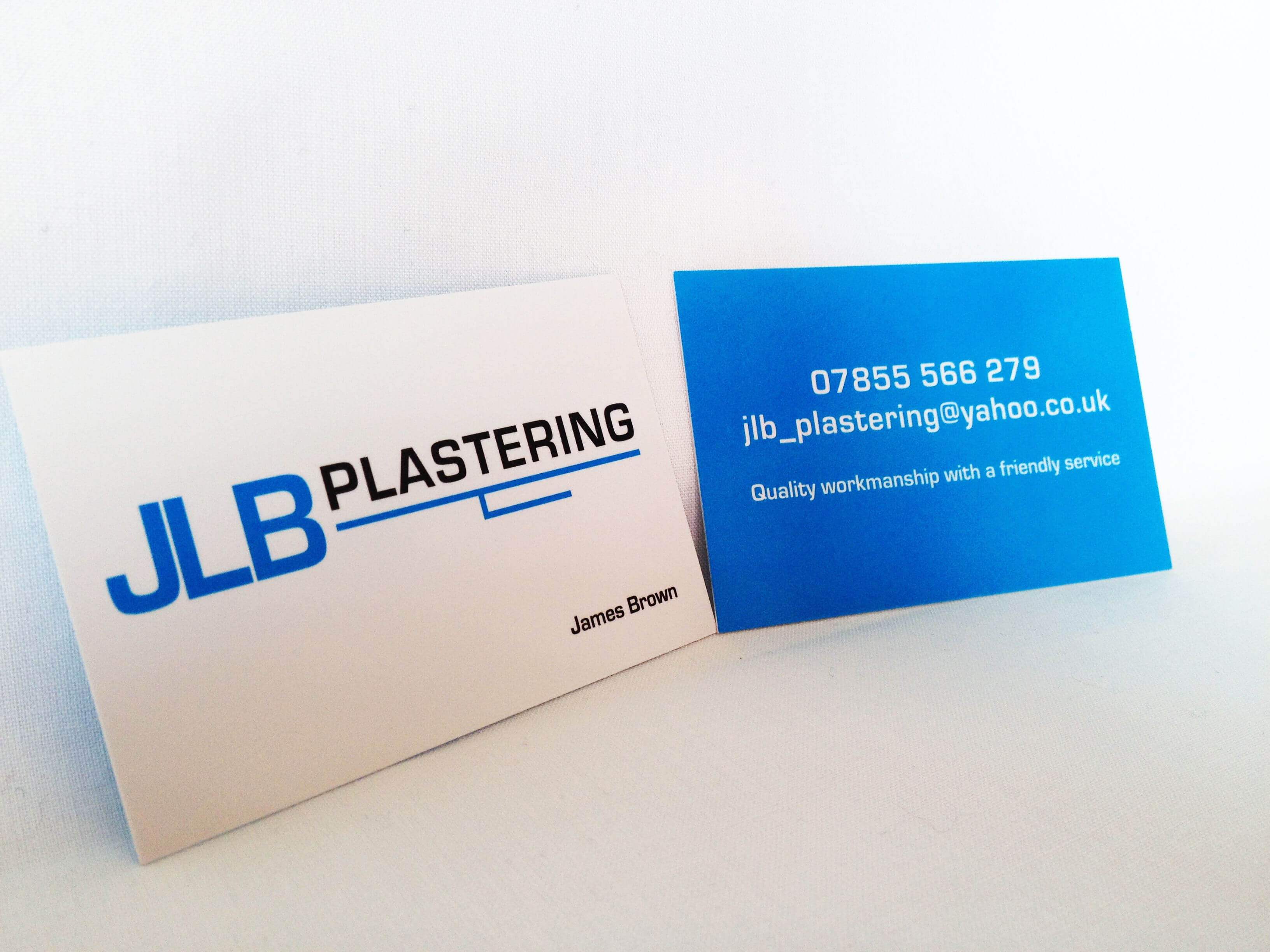 New Jlb Plastering Business Cards And Logo Design | Logos Throughout Plastering Business Cards Templates