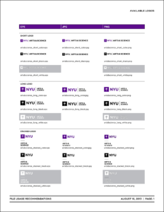 New School Visual Identity & Downloads inside Nyu Powerpoint Template