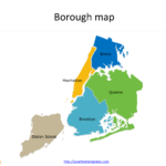 New York City Map Template – Free Powerpoint Templates Inside Blank City Map Template