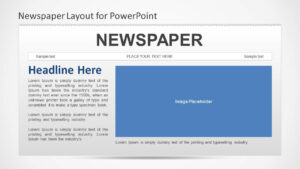 Newspaper Powerpoint Template With Newspaper Template For Powerpoint