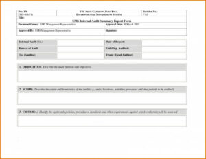 Non Conformance Report Template | Meetpaulryan In Ncr Report Template