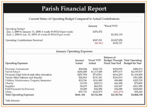 Non Profit Financial Statement Template Excel Then Monthly intended for Non Profit Monthly Financial Report Template