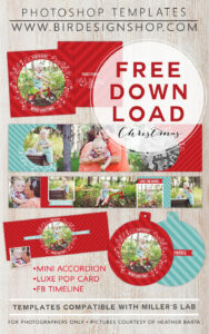 November Freebie | Photography | Christmas Photo Card with regard to Free Christmas Card Templates For Photographers