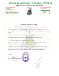 Nysc Relocation Medical Certificate Sample | Nibbleng throughout Fake Medical Certificate Template Download