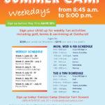 Oakhurst Summer Camp Flyer Template | Kids | Best Summer With Summer Camp Brochure Template Free Download
