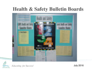 Occupational Health And Safety Workplace Site Inspection with regard to Health And Safety Board Report Template