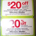 Office Depot Business Card Template Coupon Code Sample Kit With Regard To Office Depot Business Card Template