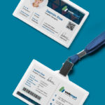 Office Id Card Design Psd | Psdfreebies Intended For College Id Card Template Psd