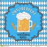 Oktoberfest Beer Festival Card. Template For Advertising Within Advertising Card Template