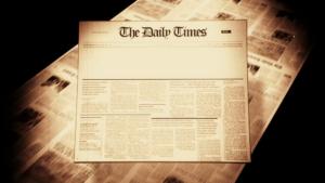 Old Newspaper Headline (Blank) Motion Background – Storyblocks Video pertaining to Blank Old Newspaper Template