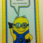 One In A Minion Card Tutorial With Free Template | Projects inside Minion Card Template