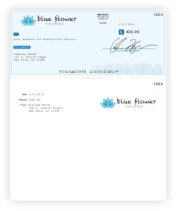 Online Check Printing | Checkeeper with regard to Customizable Blank Check Template