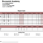 Online High School Report Card Template – Cards Design Templates In High School Report Card Template